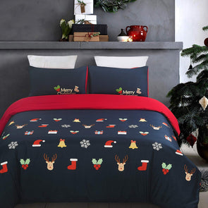 Vaulia Christmas duvet cover set BS620