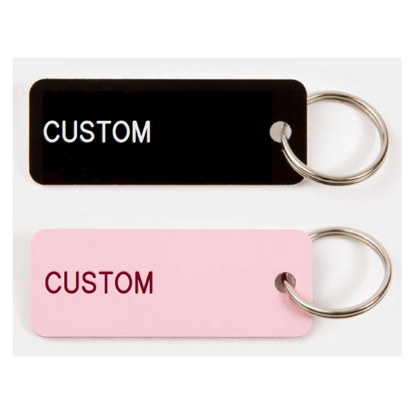 Single Sided Keychain [CUSTOM]