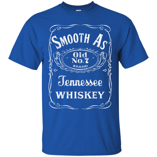 Smooth As Tennessee Whiskey Tee Shirt Blue