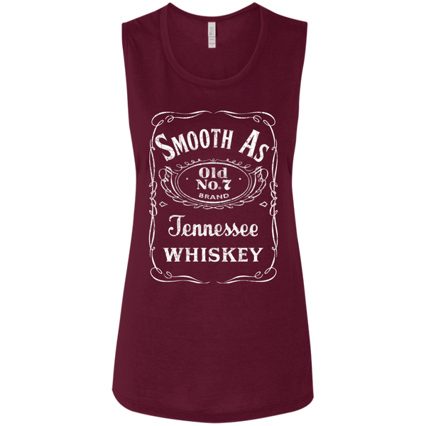 Smooth as Tennessee Whiskey Flowy Muscle Tank