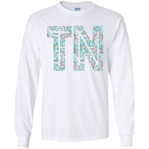 Paisley Tennessee Long Sleeve Tee White