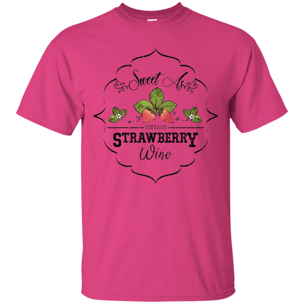 Sweet As Strawberry Wine Tee Pink