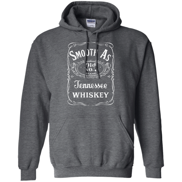 Smooth as Tennessee Whiskey Hoodie Sweatshirt Dark Grey