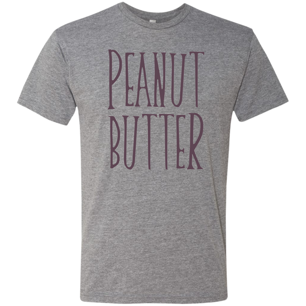 Peanut Butter Friendship or Couples Tee Grey