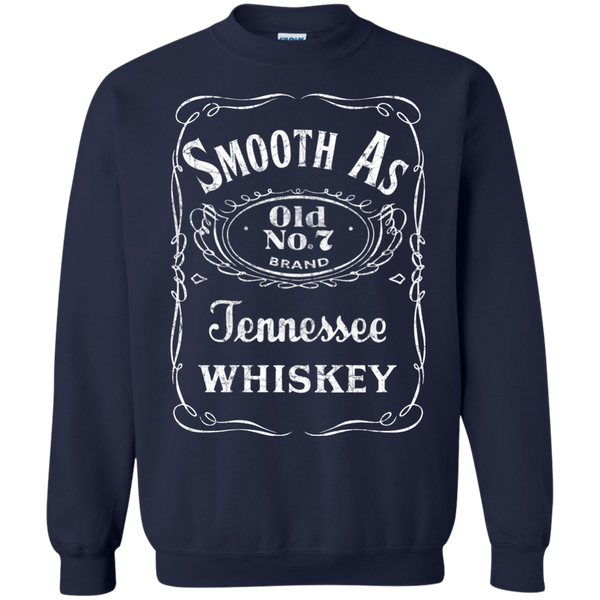Smooth as Tennessee Whiskey Crewneck Sweatshirt Navy