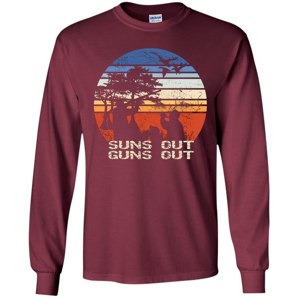 Suns Out Duck Hunting Long Sleeve Tee