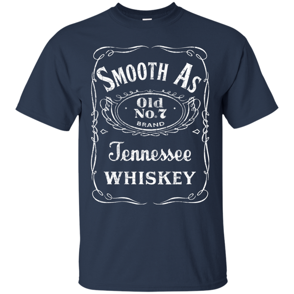 Smooth As Tennessee Whiskey Tee Shirt Navy