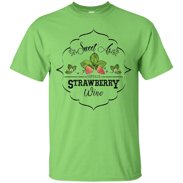 Sweet As Strawberry Wine Tee Lime