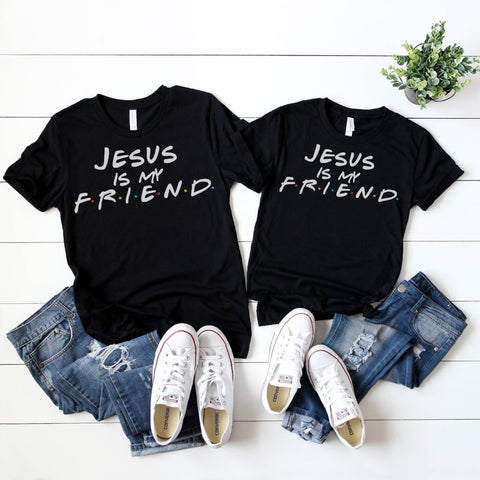 Jesus is my Friend Soft Unisex Tee