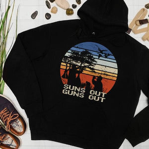 Suns Out Guns Out Pullover Hoodie