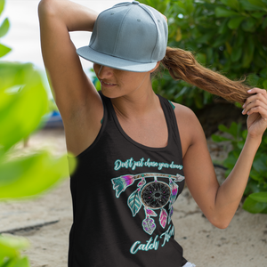 Catch Your Dreams Flowy Racerback Tank
