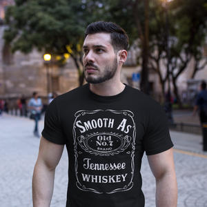 Smooth As Tennessee Whiskey Tee Shirt Black