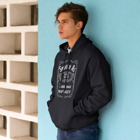 Smooth as Tennessee Whiskey Hoodie Sweatshirt Black