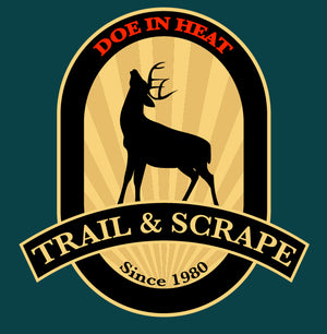 Trail & Scrape Scent | Estrus doe urine with buck tarsal - 16oz