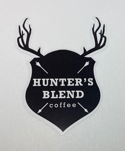 Hunter's Blend Coffee Decal Sticker
