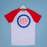 Anti Nazi League II. T-Shirt unisex weiß/rot