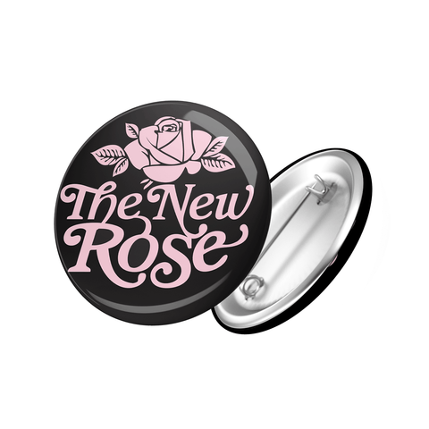 The New Rose Logo Badge black
