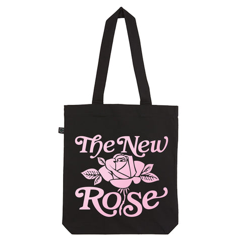 The New Rose Logo Totebag black