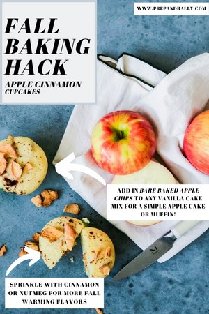 Fall Baking Hack-Apple Cinnamon Cupcakes!