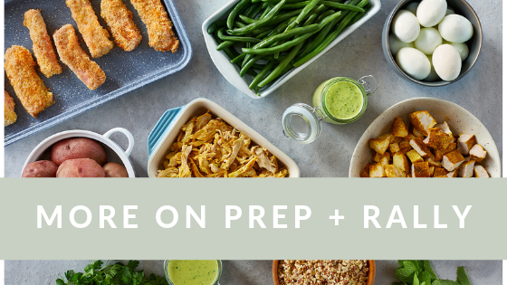 Dini Klein - Family Meal Plan - Prep And Rally