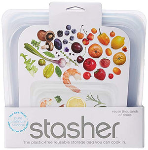 Stasher Reusable Silicone Food Bag - Prep And Rally