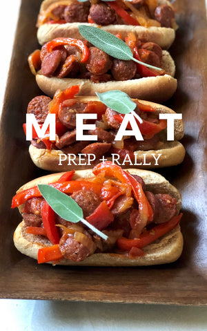 Meat - Prep And Rally - Ebook by Dini Klein