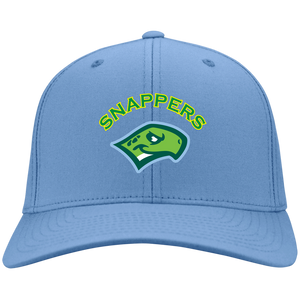 Baby Blue Snappers Head Twill Cap