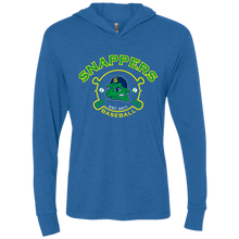 Load image into Gallery viewer, Snappers Next Level Unisex Triblend LS Hooded T-Shirt