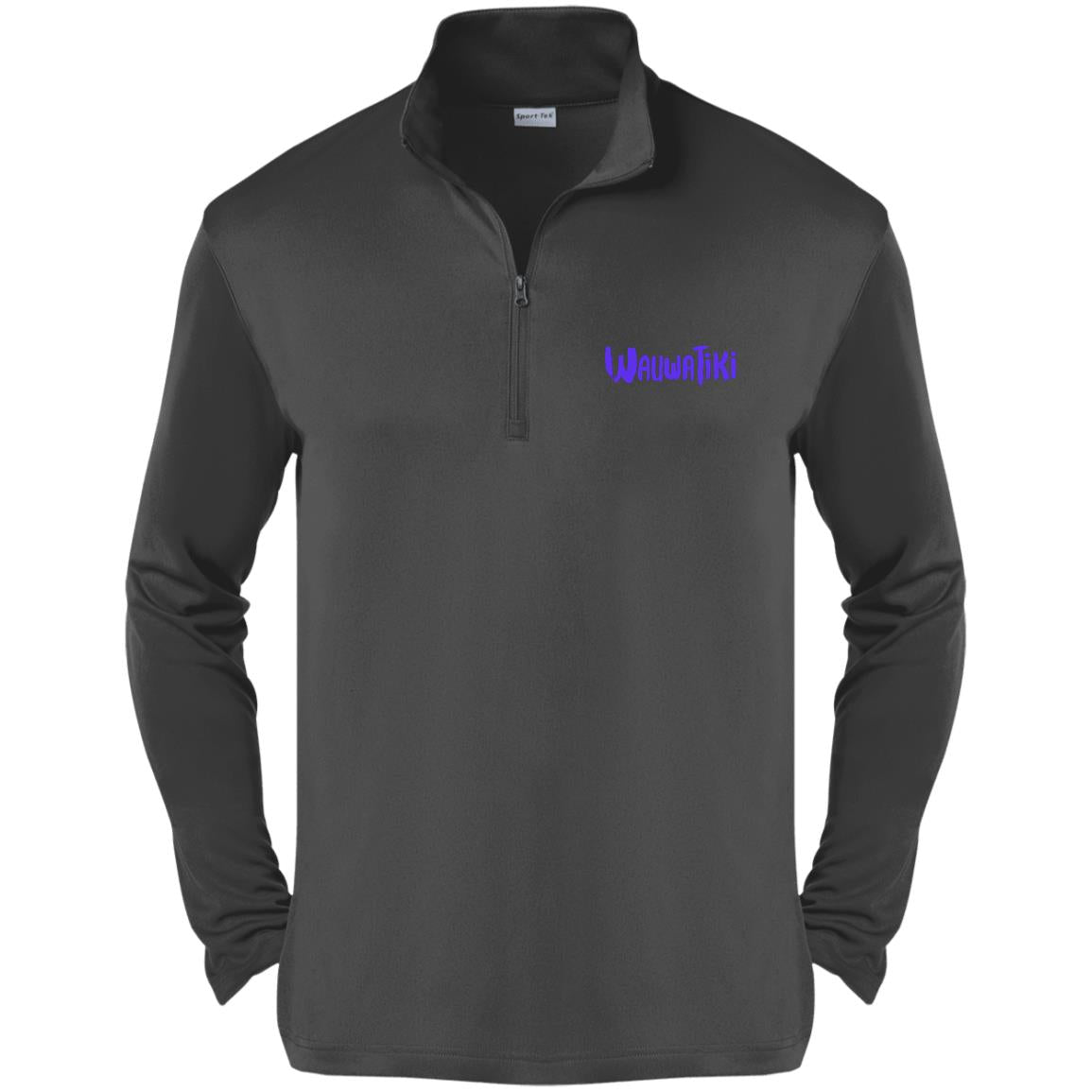 Tiki 1/4-Zip Pullover - Purple