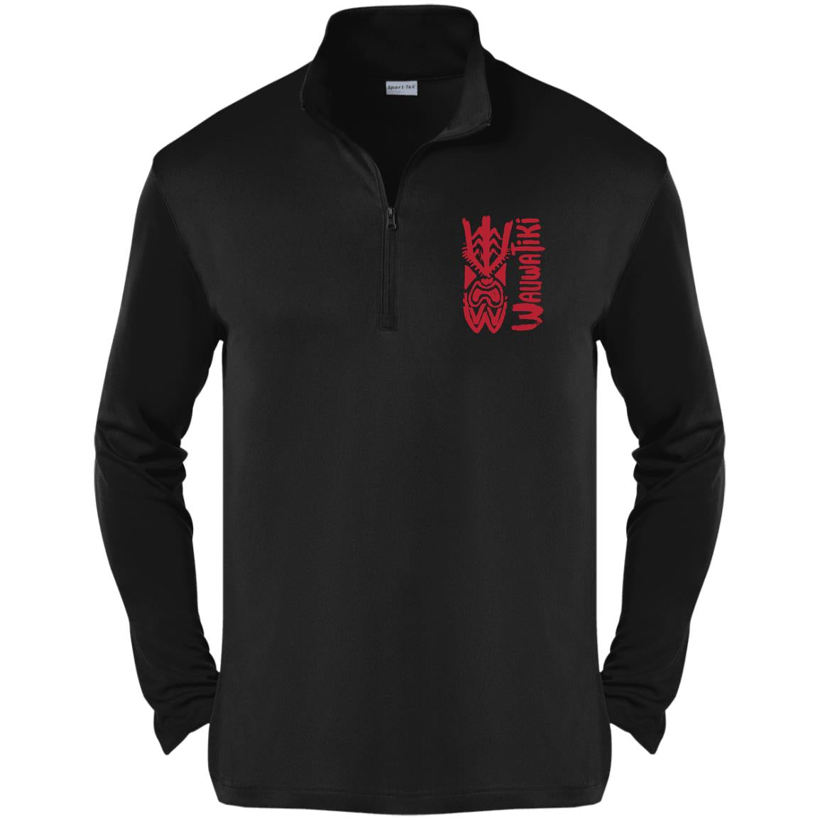 Tiki SBS 1/4-Zip Pullover - Red