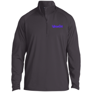 Tiki 1/2 Zip Pullover - Purple