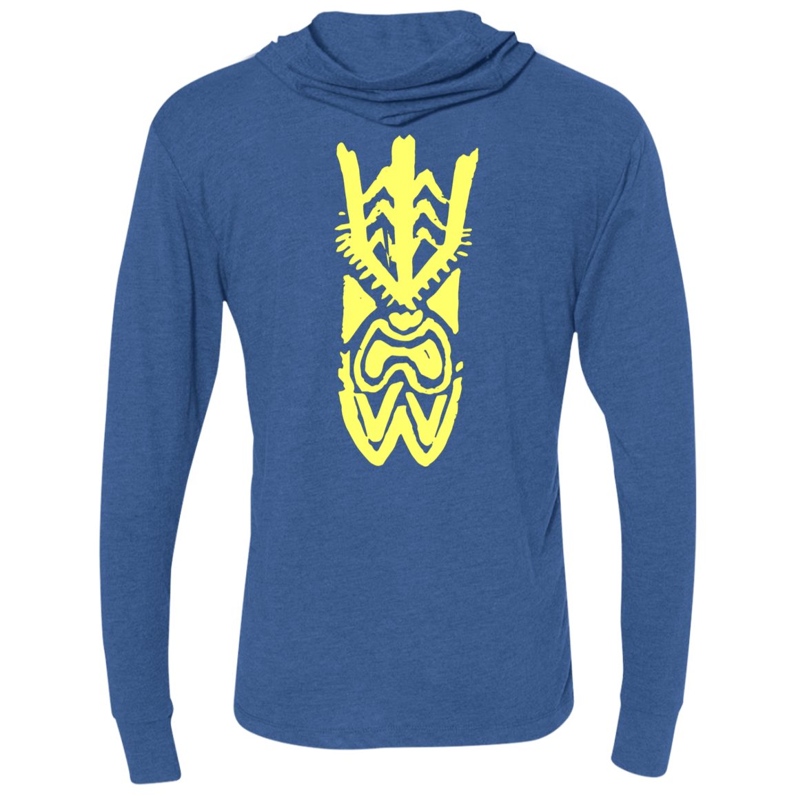 Snappers Next Level Unisex Triblend LS Hooded T-Shirt