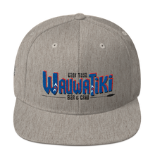 Load image into Gallery viewer, Tiki Red/Blue Snapback Hat