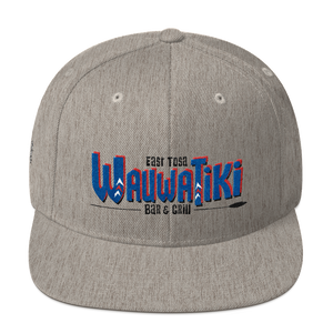 Tiki Red/Blue Snapback Hat