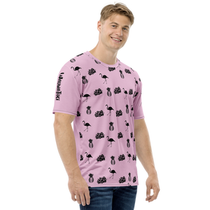 Tiki Pink Men's T-shirt