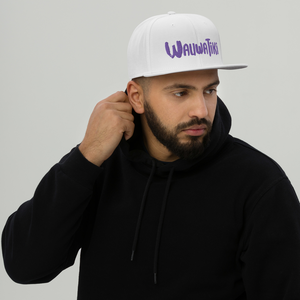 Purple Tiki Snapback Hat