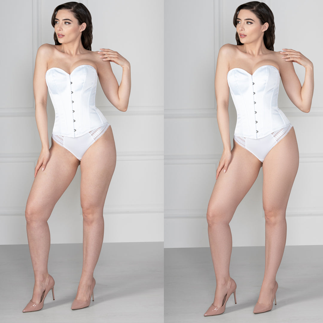 The Corset Story Image Editing Process