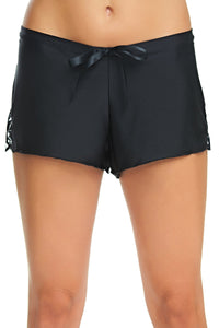 Sienna Black French Knicker