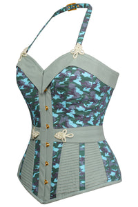 Military Inspired Camo Corset