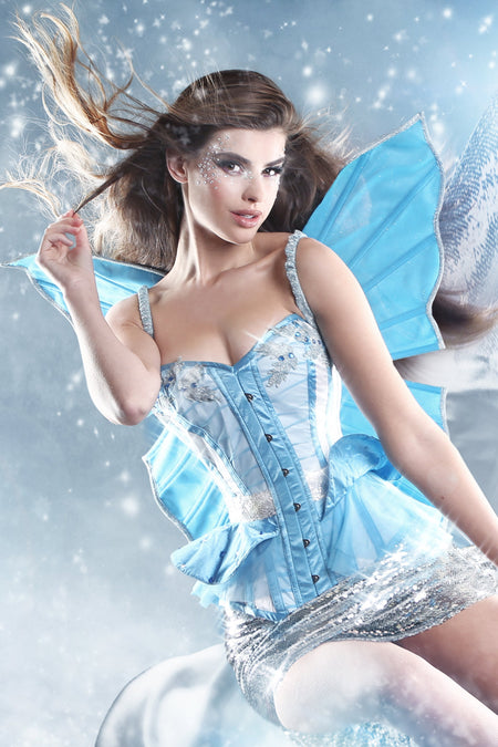 Xmas Fairy Corset with Wings