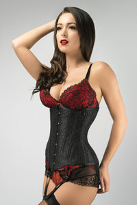 Beautiful Noire Waist Training Underbust Corset- Longline