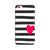 Cute Heart On Zebra Print Phone Case for Oppo R9s