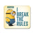 Minion I Break the rules Mouse Pad