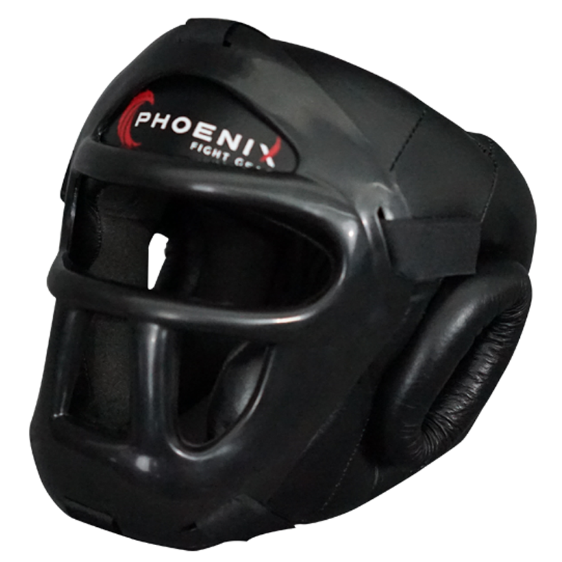 Flight Headgear with Full Face Protection