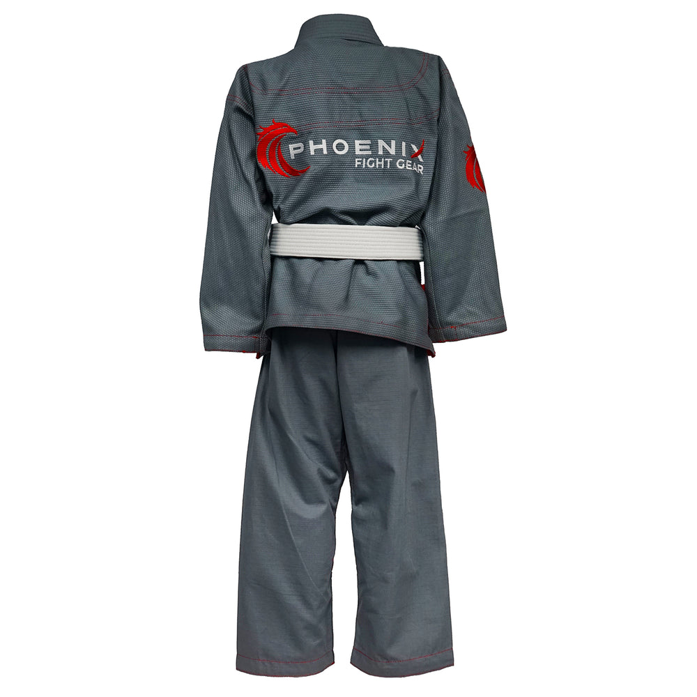 Kids Talon BJJ Gi - Grey