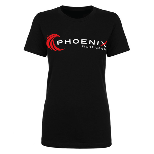 Ladies Phoenix Logo Tee - Black