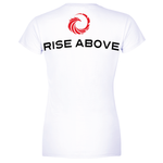 Ladies Phoenix Logo Tee - White