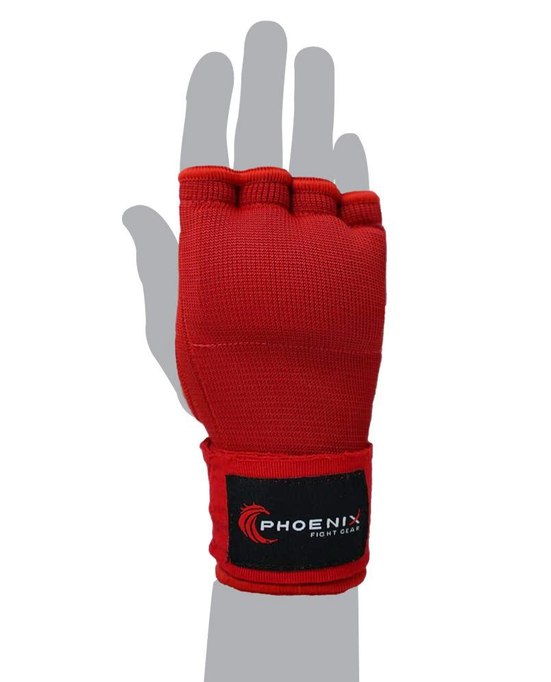 Sustain Hand Supports with Gel - Red