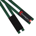 BJJ Belt - Green/White