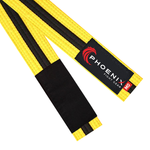 BJJ Belt - Yellow/Black